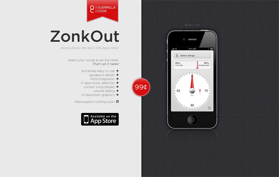 ZonkOut website