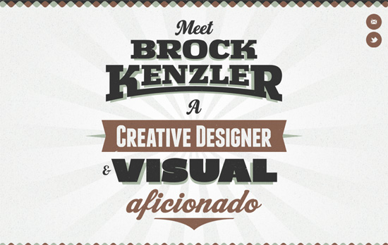 Brock Kenzler's website
