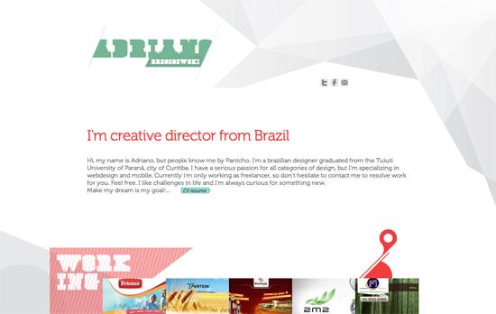 Adriano Brzozowski's website