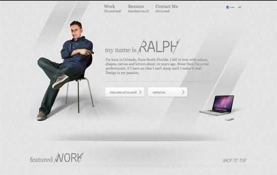 Ralph Millard's website