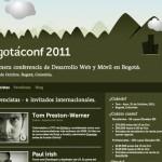 Bogotaconf website