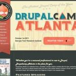 Drupalcamp Atlanta website