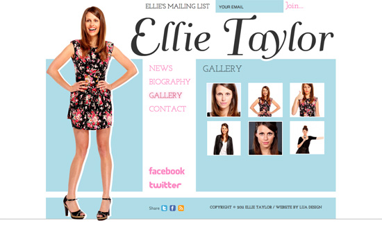 Ellie Taylor's website