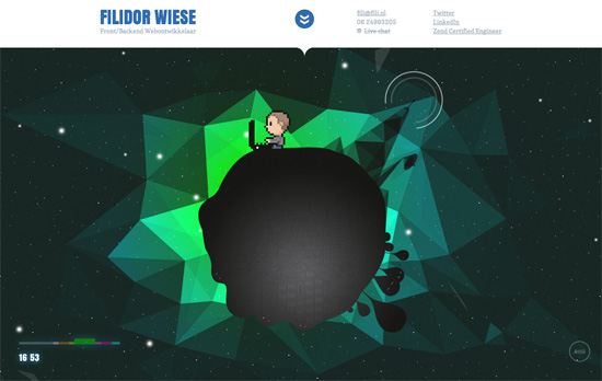 Filidor Wiese's website