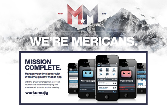 Merican Made website