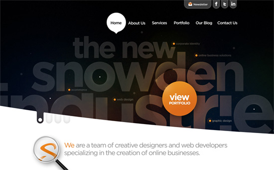 Snowden Industries website