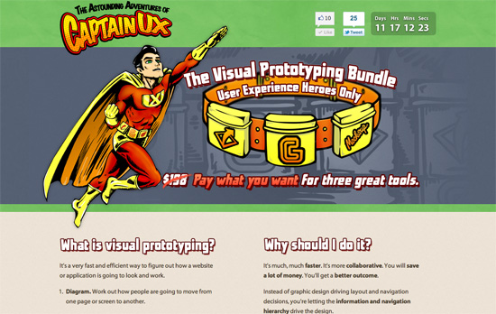 UX Heroes Visual Prototyping Bundle