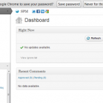 WPManage Dashboard
