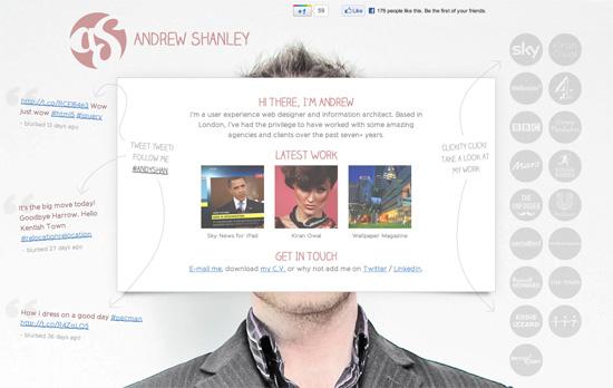 Andrew Shanley's website
