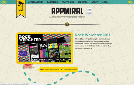 Appmiral website