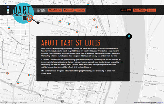 DART St. Louis website