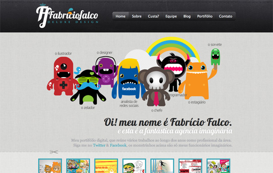 Fabricio Falco website