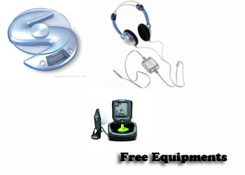 free equipment