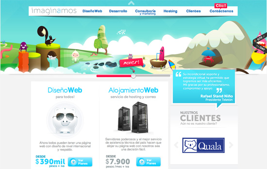 Imaginamos website
