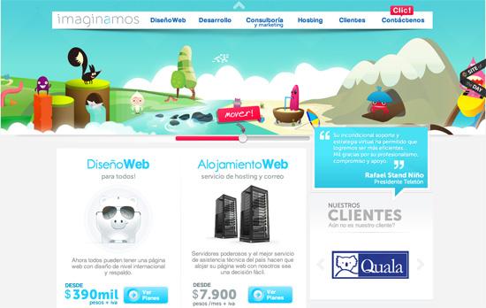 Imaginamos website