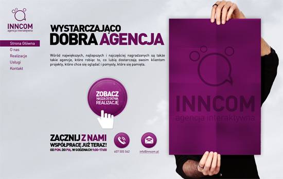 Inncom.pl website