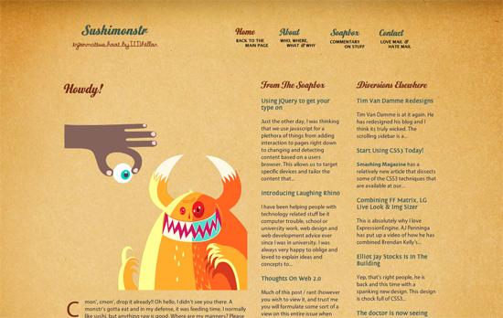 Sushimonstr website