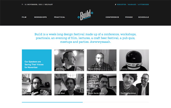 Build 2011 website