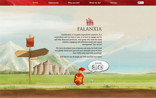 Falanxia website