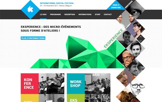 Kikki Festival 2011 website