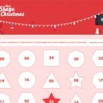 It's A Shape Christmas website