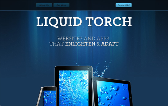 Liquid Torch website