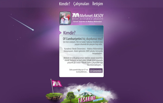 Mehmet Aksoy's website