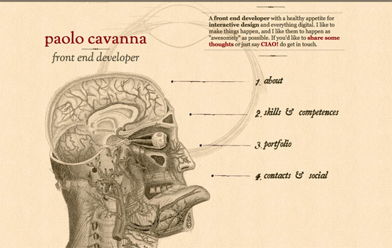 Paolo Cavanna's website