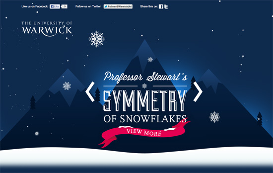 A Very Warwick Christmas website