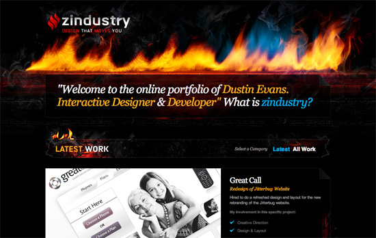 Zindustry website