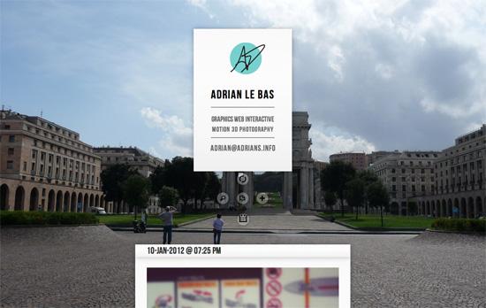 Adrian Le Bas's website