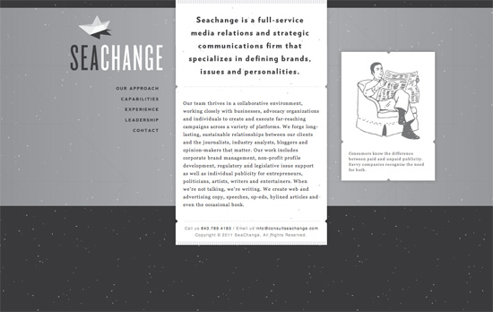 SeaChange website