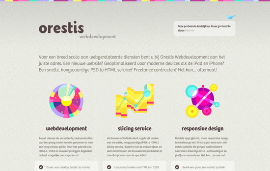 Orestis Webdevelopment website