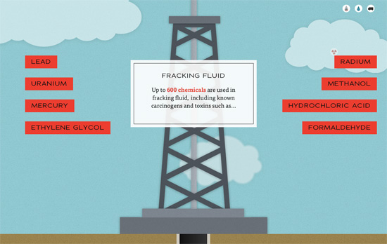 Dangers of Fracking website