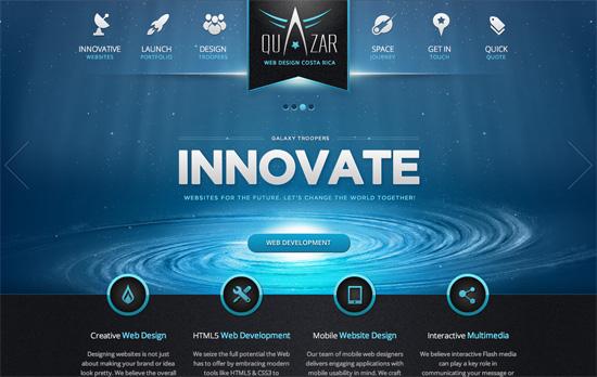 Quazar website