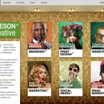 Deeson Creative website