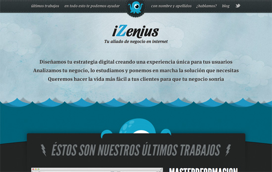 iZenius website