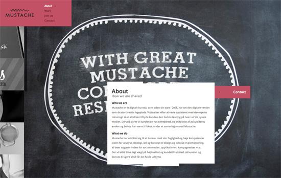 Mustache website