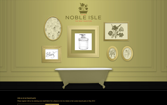 Noble Isle website