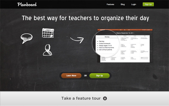 Planboard website