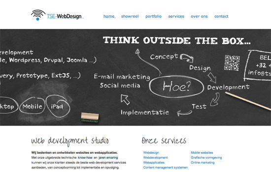 TSE-WebDesign website