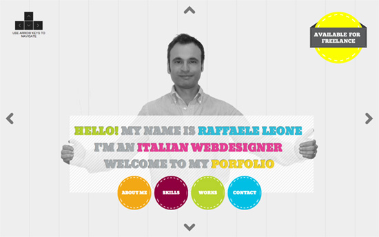 Raffaele Leone's website