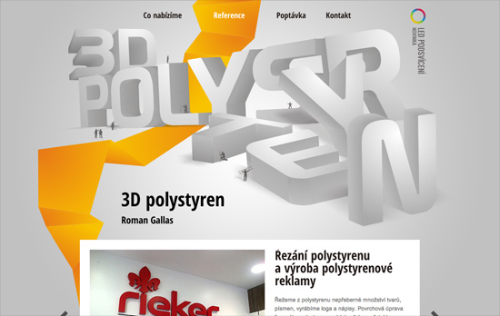 3D Polystyren website