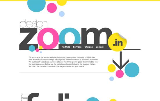 Designzoom website