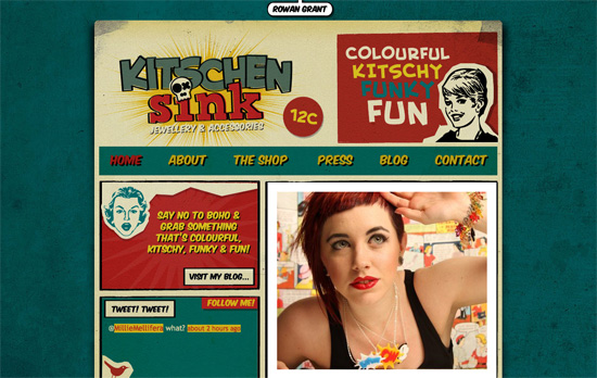 Kitschen Sink website