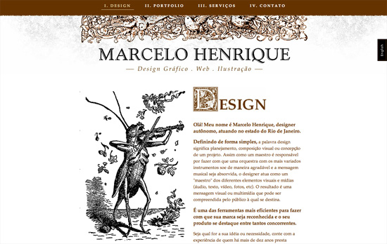 Marcelo Henrique's website
