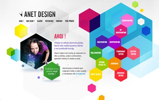 Anet Design website