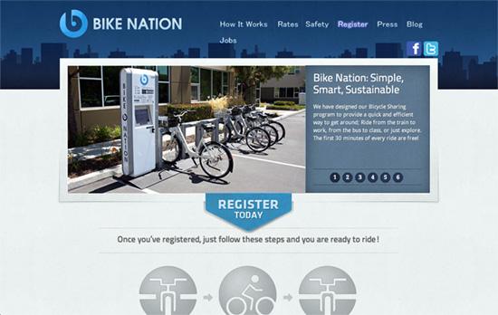 Bike Nation USA website