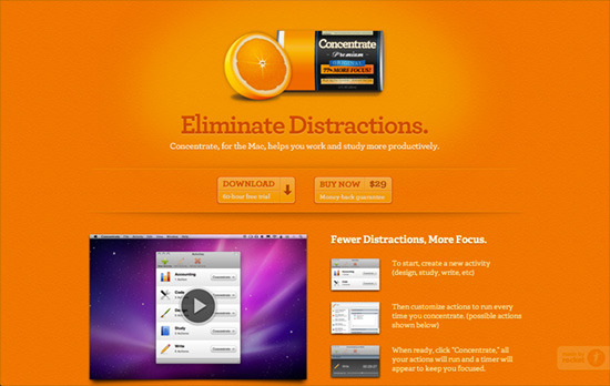 Concentrate website
