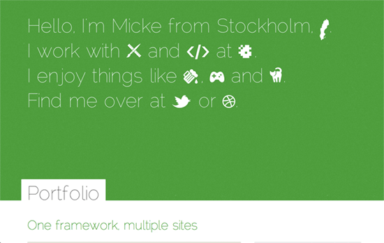Mikael Norling's website